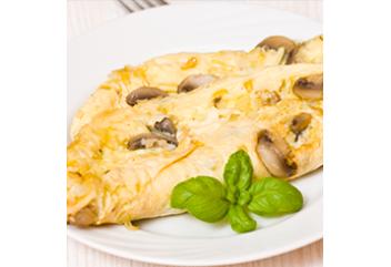 230. Mushroom Omelette